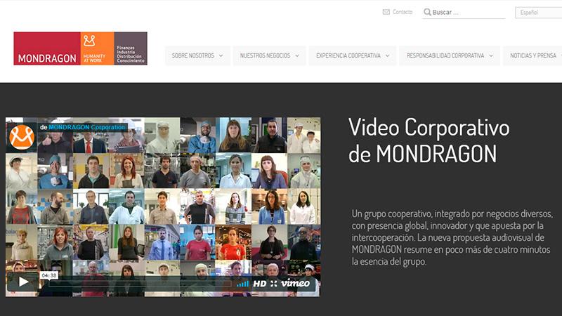 Enlaces - Mondragón reune unidades productivas en España ejemplo de Cooperativismo inteligente