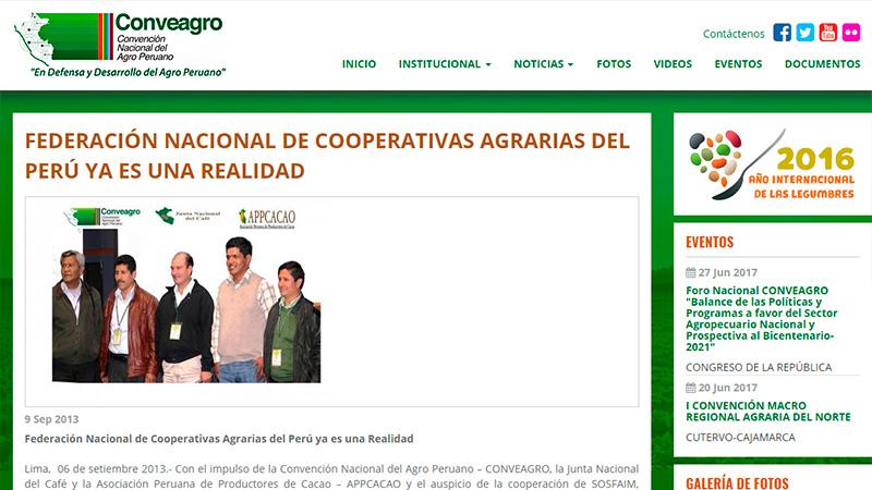 Enlaces - Federación Nacional de Cooperativas Agrarias en el Perú